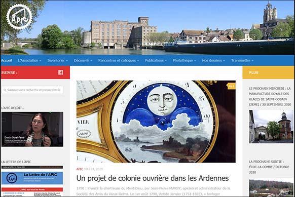 Accueil site Apic