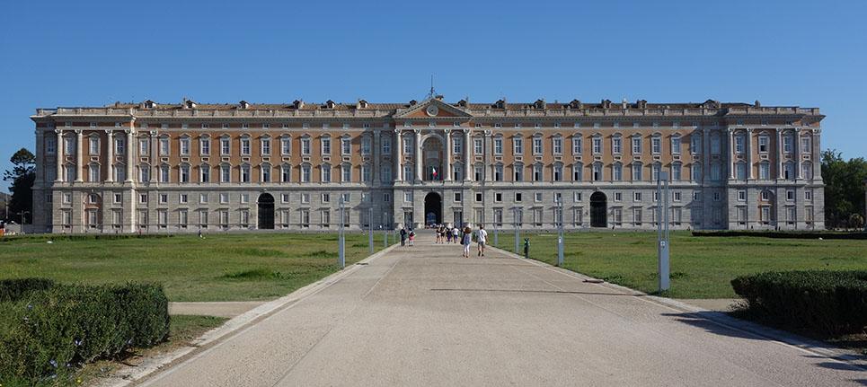 Le palais de Caserta