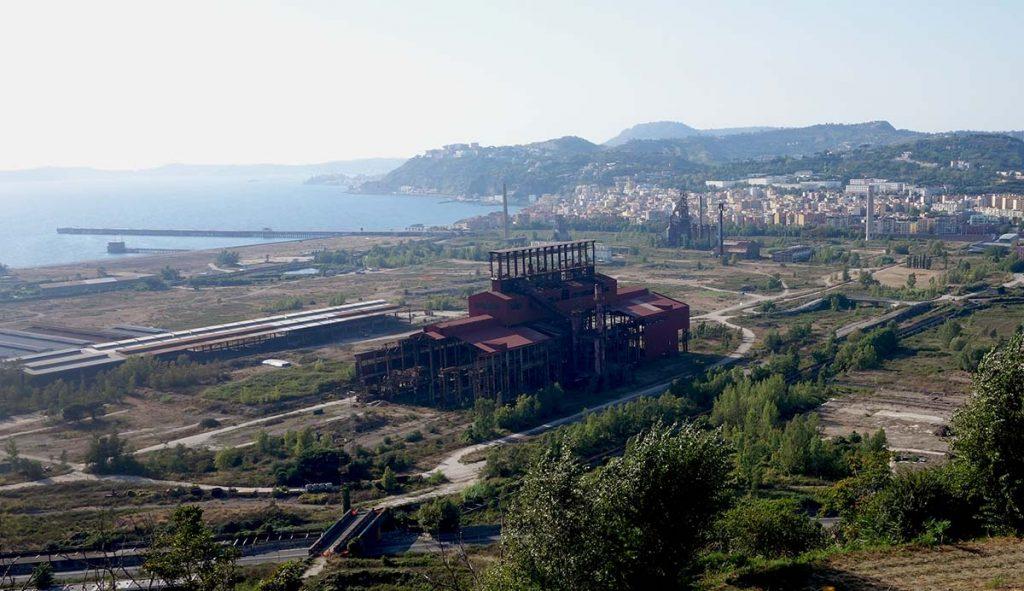 Friche industrielle des aciéries de Bagnoli