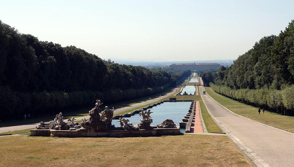 Les jardins royaux de Caserta