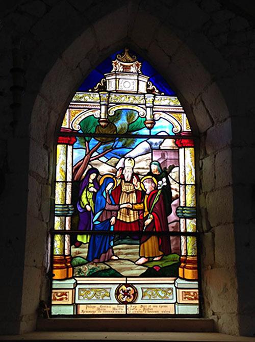Vitrail Saint-Ange DORE
