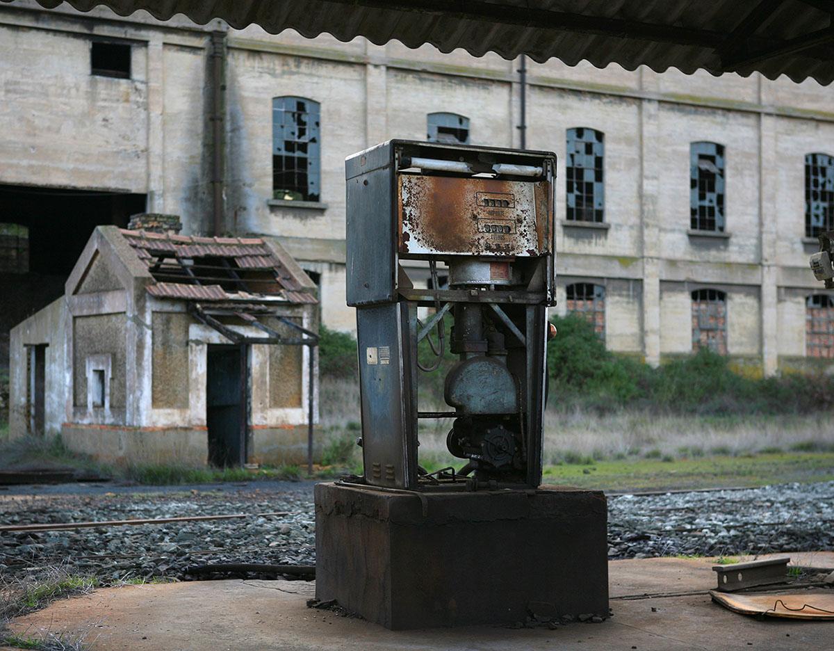 Tharsis, près de Rio Tinto - Cliché Marc Vila, 2009