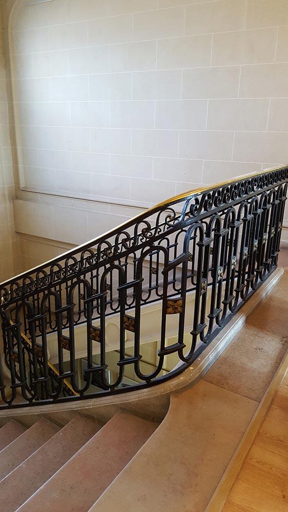 L'escalier d'honneur aujourd'hui