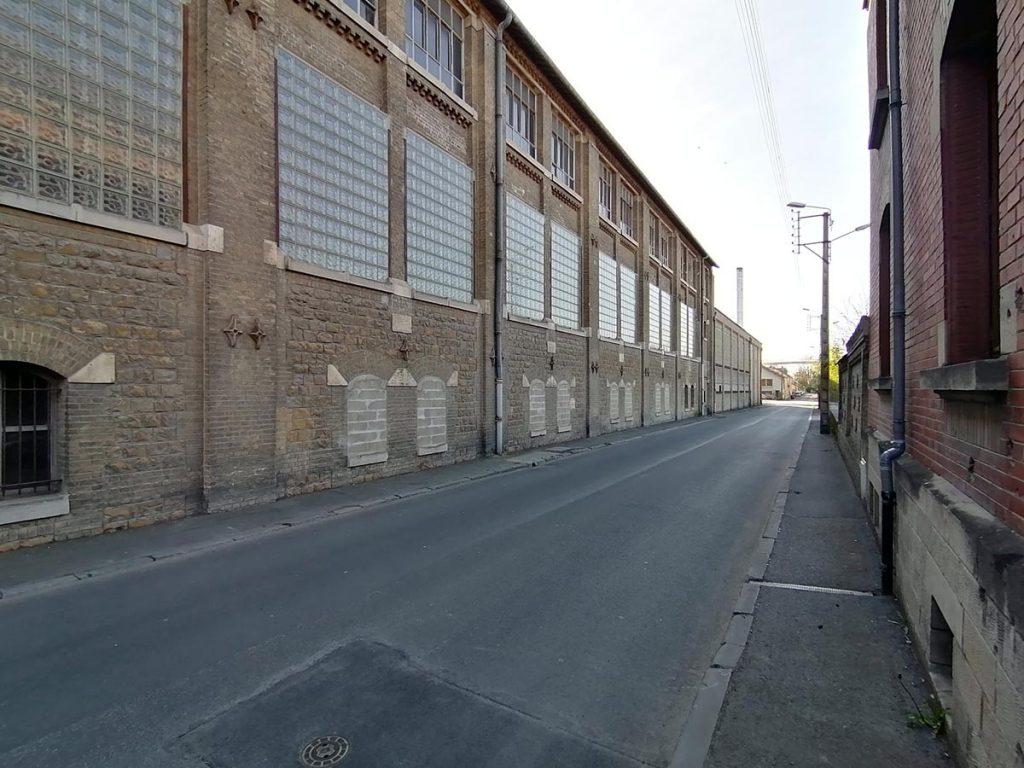 Usine Smurfit Kappa, rue Hippolyte Noiret