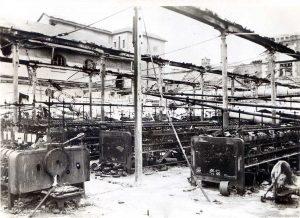 Les métiers textiles détruits après 1945