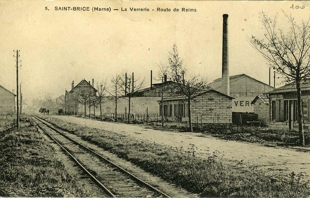 Le site des VMC au début du XXe siècle