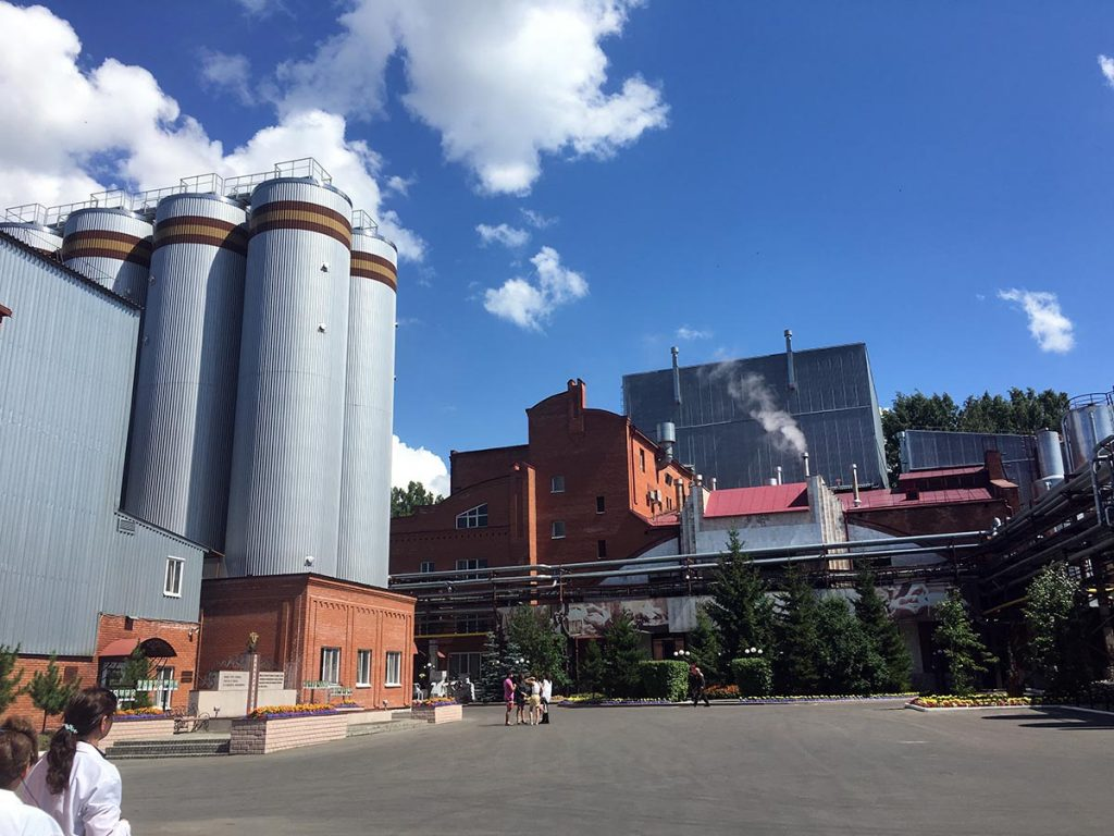 Grande brasserie à Omsk
