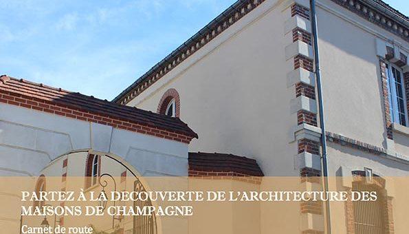 Maison de champagne à Mareuil-sur-Aÿ - Détail de la couverture du livret